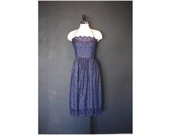 70s Eylet Dress