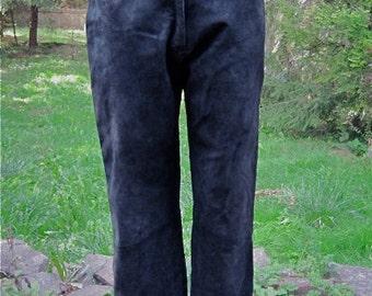 Vintage Concepts Suede Pants