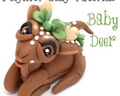 Polymer Clay Woodland Deer Tutorial - Also for Fondant, Sugar Paste, & More