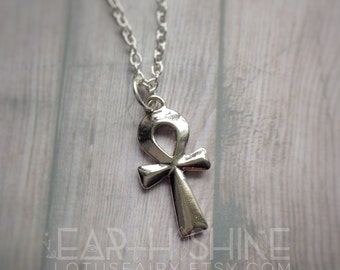 Ankh necklace, egyptian symbol,