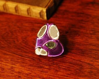 Bravely Default Ranger Asterisk Pin Badge