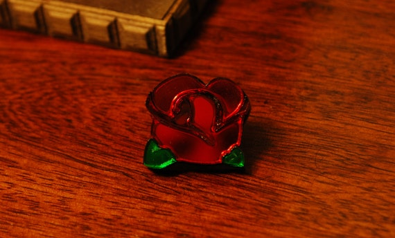 Bravely Default Red Mage Asterisk Pin Badge by Clinkorz on Etsy