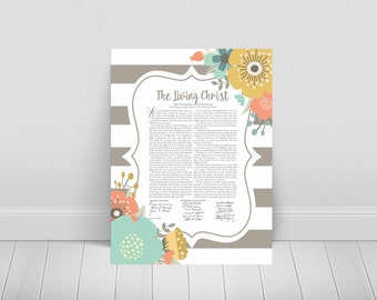The Living Christ-Printable-LDS-Instant Download-3 Sizes Included
