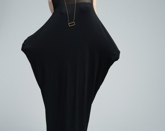 NEW Maxi Dress / Day Dress / Long Oversize Dress / Sleeveless Dress / Summer Dress / Casual Dress / marcellamoda - MD663