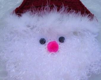 Free Shipping Crochet Santa Claus  Wall Decor