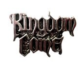 vintage KINGDOM COME heavy metal enamel jacket pin 1988 led zeppelin