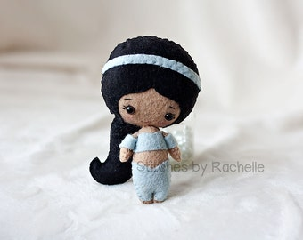 "4.75"" Jasmine Felt Doll 