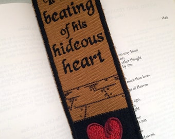 Edgar Allen Poe, The Tell-tale Heart Bookmark
