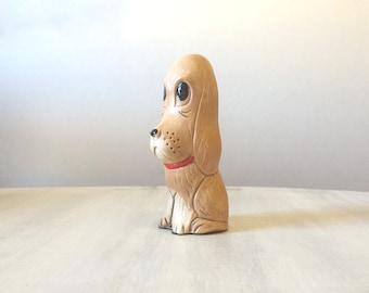 Vintage dog figure, dog figurine, porcelain dog, vintage dog, ceramic dog, collectible dog, dog lover, dog statue, vintage dog statue