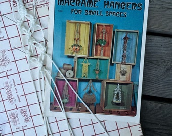 Macrame Pattern Book for Plant Hangers - Small Plant Hangers Pattern Instruction Book