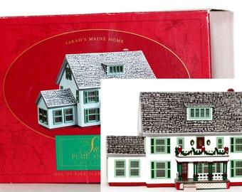 Hallmark Christmas Sarah's Maine Home The Sarah Plain and Tall Collection 1994