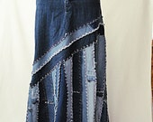 Long Jeans Skirt - Made to Order - Long Ella 2Day Denim Skirt