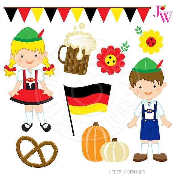 german kids clipart - photo #1