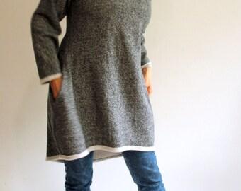 Flurry Organic Cotton Sweathirt Tunic