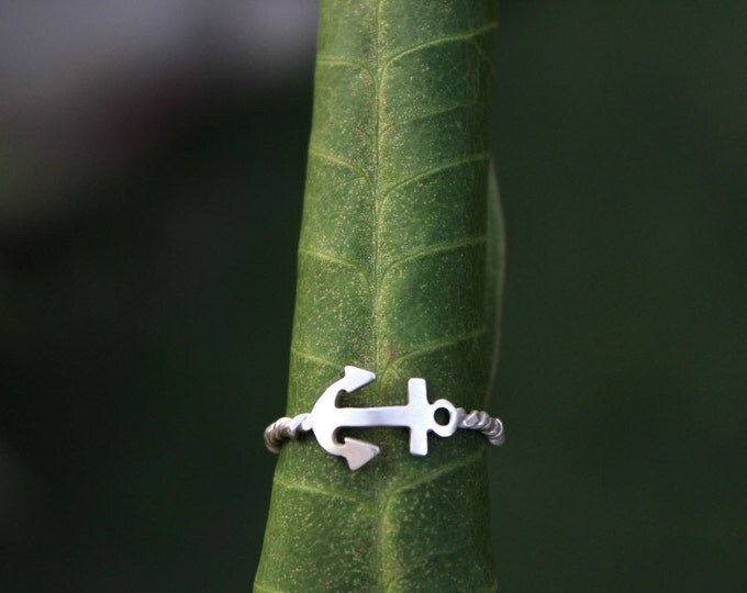 Anchor Here Ring
