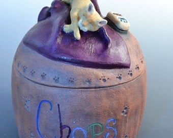 Custom Cat Urns, Cat Urns, Pet Urn, Pet Cremation, Cat, Made to Order- Any Cat Breed