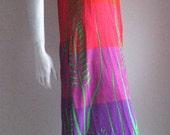 sale 60s vtg  psychedelic beach cover