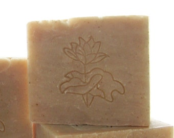 Ginger Lime Soap - Vegan Ginger Lime Cold Processed Soap - All Natural Soaps