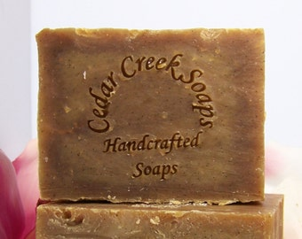 Orange Vanilla Soap - Orange Vanilla Cold Processed Soap ~ Vegan and All Natural Soap