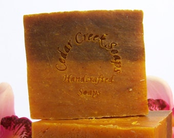 Bay Rum Soap Bay Rum Cold Processed Soap Vegan and All Natural Soap