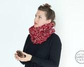 THE BRACKISH COWL | 23 Color Choices| Cozy Chunky Textured Knit Infinity Cowl Scarf