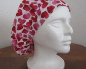 Hearts - Bouffant Surgical Scrub Hat