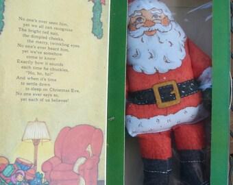 Hallmark Santa Claus Holiday Doll