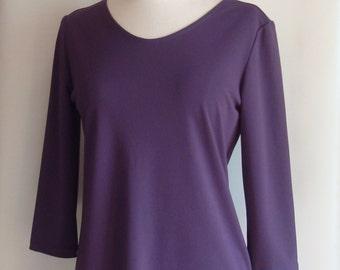 Purple Women's Top