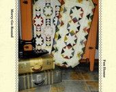 Quilt Pattern, Country Fair, Merry Go Round, Fun House, Pieced Table Runner, Snuggles Quilts, PATTERN ONLY