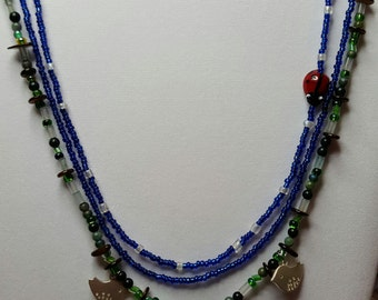 Mother Earth Beaded Necklace