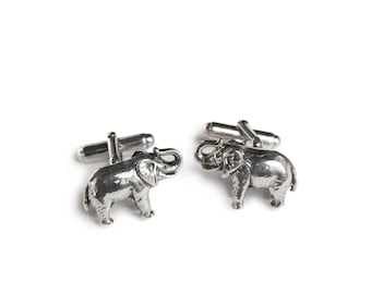 Bicycle Sterling Silver Cufflinks