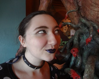 Dark Timeline 'Autumnal Purple' (Very) Dark Purple Lipstick