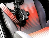 1985 Volkswagen Golf GTI Camera Strap - Made from Vintage VW Car Upholstery