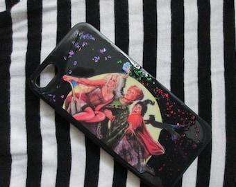 Hocus Pocus Glitter Sanderson Sisters iPhone Case