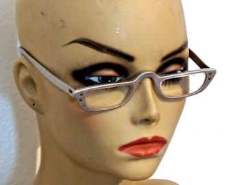 vintage Liberty glasses - 1940s-50s Liberty silver eyeglasses