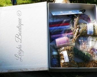 Ritual Altar Box & Supplies