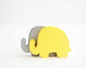 24  Elephant Die Cut, Elephant die cut (3.5 x 2.5 inches) Textured Cardstock die cut A700