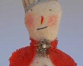 Poor Little Primitive Snowman Needs a Friend
