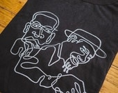 Thelonious Monk John Coltrane Inspired Screenprinted T-Shirt