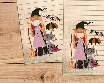 Which Witch - A5 Stationery - 12, 24 or 48 sheets