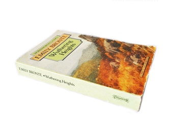 Wuthering Heights. 1993 Wordsworth Classics. Vintage Copy. Emily Bronte. Paperback. Book. Literature. Gothic.
