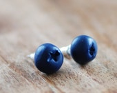 Blueberry studs, Blueberry earings, everyday studs, small posts