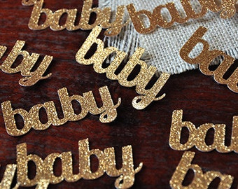 Baby Confetti for Baby Shower Table Decoration 25CT.  Handcrafted in 2-3 Business Days.