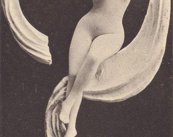 Fair Muse, Faux Nude Image, circa 1900