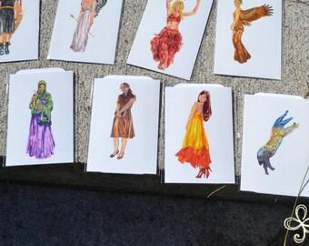 Atropos Mini Print - Pocket Goddess