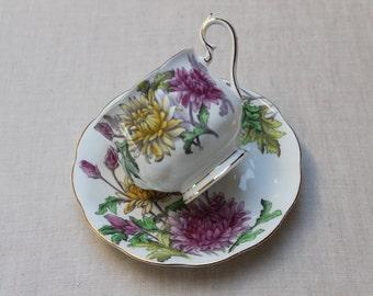 Royal Albert Flower of the Month tea cup set