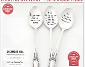 CUSTOM SPOON. The ORIGINAL Hand Stamped Vintage Coffee Spoons ™ by Sycamore Hill. Personalized Teaspoons. Custom Spoons. Made to Order.