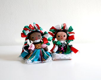 SALE Two Mexican Doll