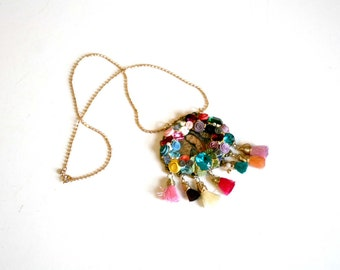Maria Guadalupe Mexican Handcrafted Necklace
