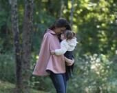 LADIES Classic Cape - Babywearing - PDF Pattern - Sizes 0-24+